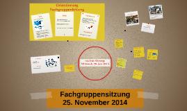 FG-Sitzung 25. November 2014