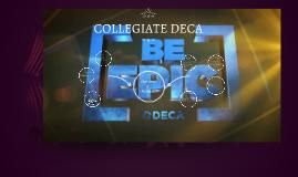 COLLEGIATE DECA