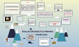 Evaluación Didáctica General Primaria 2016