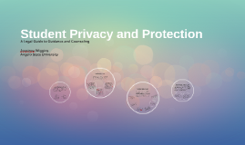 Student Privacy and Protection