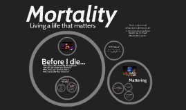 Mortality and Why you matter (Candy Chang and Drew Dudley) 2017