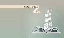 Copy of Writing Portfolio