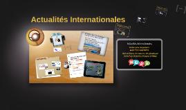 Actualités internationals
