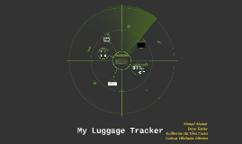 My Luggage Tracker