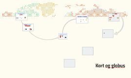 Kart og globus