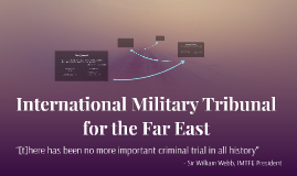 Copy of International Military Tribunal for the Far East