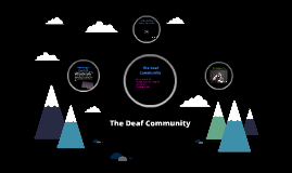 The Deaf Community