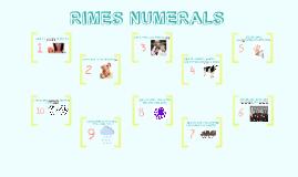 RIMES NUMERALS