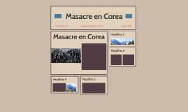 Masacre en Corea