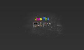 Presentación sobre Joan Miró
