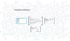 Pointless websites