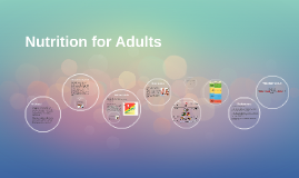 Health and Nutrition for Adults