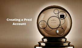 Creating a Prezi Account