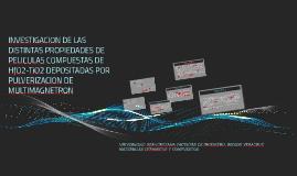INVESTIGACION DE LAS DISTINTAS PROPIEDADES DE PELICULAS COMP