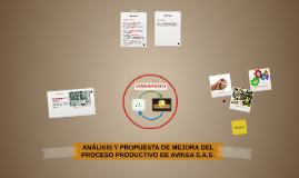 ANÁLISIS Y PROPUESTA DE MEJORA DEL PROCESO PRODUCTIVO DE AVI