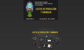 Copy of COSTOS DE PRODUCCIÓN Y GANANCIA