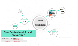 YEStoGC- Gun Control and Suicide Prevention