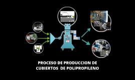 PROCESO DE PRODUCCION DE CUCHARAS DE PLASTICO