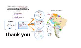 Salmonella and Campylobacter in Ecuador