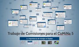 Copy of Trabajo de Comisiones para el CoMiNa 5