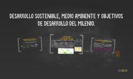 DESARROLLO SOSTENIBLE,MEDIO AMBIENTE Y ODM