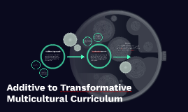 Additive to Transformative Multicultural Curriculum