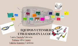 Copy of EQUIPOS Y UTENSILIOS UTILIZADOS EN LA COCINA