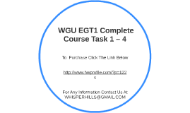 Fdt4 task 3 wgu - Research paper Example - September 2019