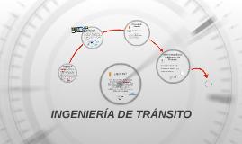 INGENIERÍA DE TRÁNSITO