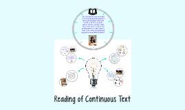 Continuous Txt Presnet 4/3/2017