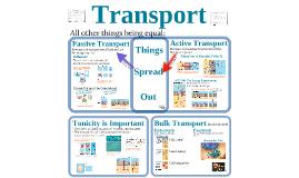 Cells 4:  Transport