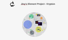 Jiny's Element Project - Krypton