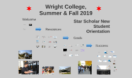 Star New Student Orientation, Spring 2019