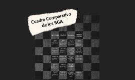 Cuadro Comparativo de SGAs