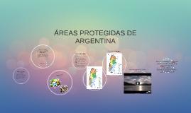 ÁREAS PROTEGIDAS DE ARGENTINA