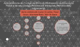 PUGA, Alberto. Aplicabilidade do Código de Ética do Profissi