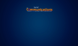Social Communications
