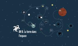 B. La terre dans l'espace