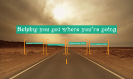Helping you get where you're going