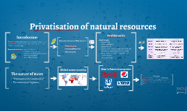Privatisation of natural resources