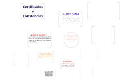 Copy of Certificados y Constancias
