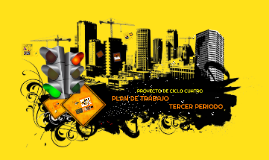 PROYECTO DE CICLO CUATRO - 3 TRIMESTRE