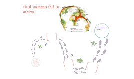 First Humans Out Of Africa