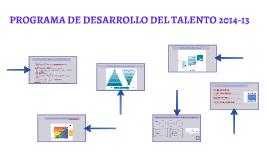 Programa de Desarrollo del Talento 2014-13