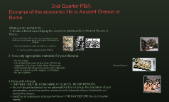 MS  6 Diorama 2nd Q PBA