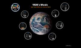 1920 music