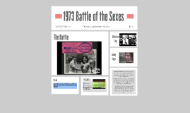 1973 Battle of the Sexes