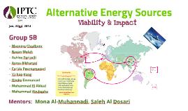 Renewable Energy Soruces