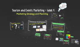 Tourism Marketing - Week 4 (SEM2, 2015)