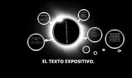 EL TEXTO EXPOSITIVO.